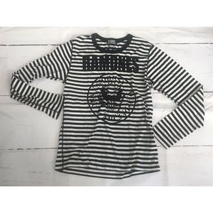 HYSTERIC GLAMOUR •M• The RAMONES Striped Tee shirt